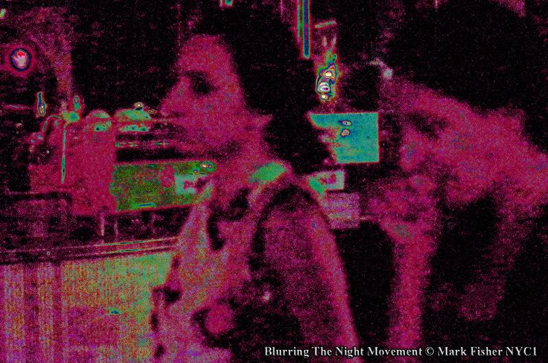 Blurring The Night Movement © Mark Fisher NYC1-4321